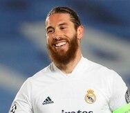Sergio Ramos estuvo con el Real Madrid desde 2005.