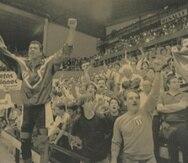 """En el Mundial de Argentina 1990, Puerto Rico registró la mejor actuación en un Mundial al ocupar la cuarta posición, tras un doloroso revés ante Estados Unidos por la medalla de bronce. En la foto, el jugador """"Papirito"""" León. (GFR Media)"""