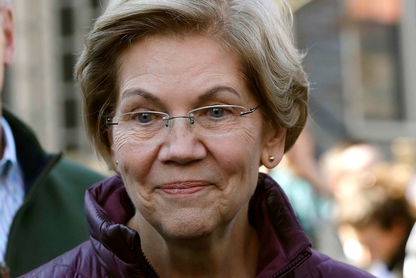 Senadora Elizabeth Warren. (AP)