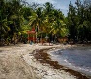 Balneario Caña Gorda en Guánica.