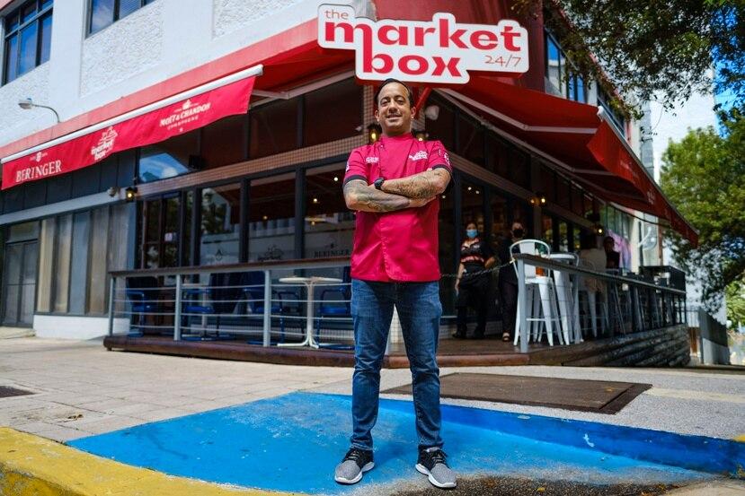 Xavier Toro Santos frente a The Market Box.