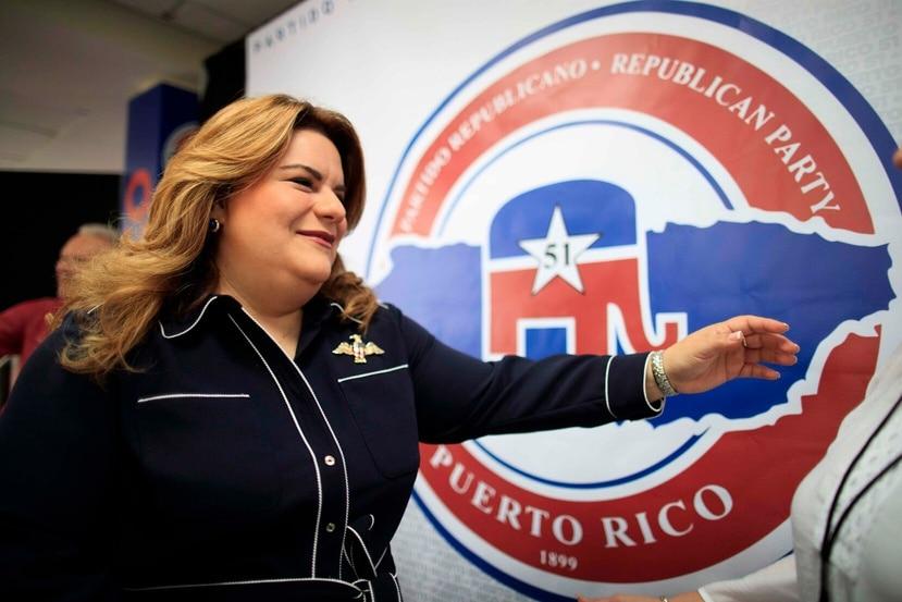 Jenniffer González es parte del Partido Republicano.