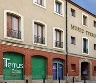 Fachada del museo dedicado al artista francés Etienne Terrus. (Captura/Google Maps)