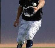 Aaron Judge, jardinero de los Yankees de Nueva York. (AP)