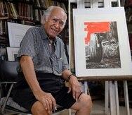 A sus 93 años de edad, el maestro Alicea escribe parte de sus memorias como uno de los proyectos que desea dejar como legado.