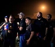 Wilhem Sánchez y Héctor González (cuarto y quinto de izquierda a derecha), formaron parte del proyecto PR-CuNaR2  de la Universidad Interamericana de Puerto Rico.