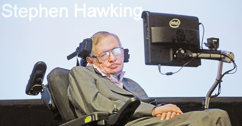 Stephen Hawking en el 2014. (AP)