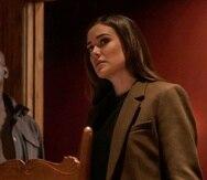 """Los actores Hisham Tawfiq (a la izquierda) y Megan Boone,  forman parte de la serie de televisión """"The Blacklist""""."""