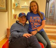 """Alexandra Cohen García, la """"codueña"""" boricua de los Mets en las Grandes Ligas"""