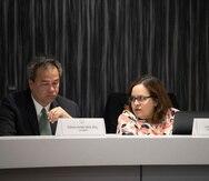 Edison Avilés y Lillian Mateo son parte del Negociado de Energía. (Archivo)