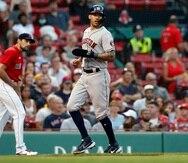 Carlos Correa anotó dos carreras en el triunfo de los Astros ante Boston en la jornada del miércoles.