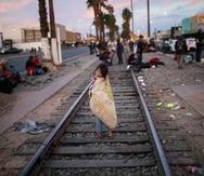 La frontera: niños que se juegan la vida