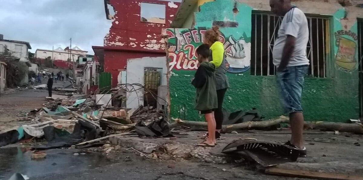 Mira cómo quedó Cuba con el paso del tornado