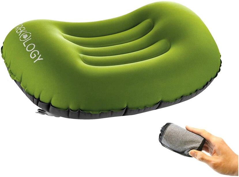 Almohada inflable de Treckology Dreamer Comfort.