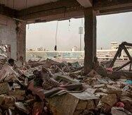 La guerra ha matado a más de 100,000 personas. (AP)
