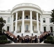 White House in Washington.