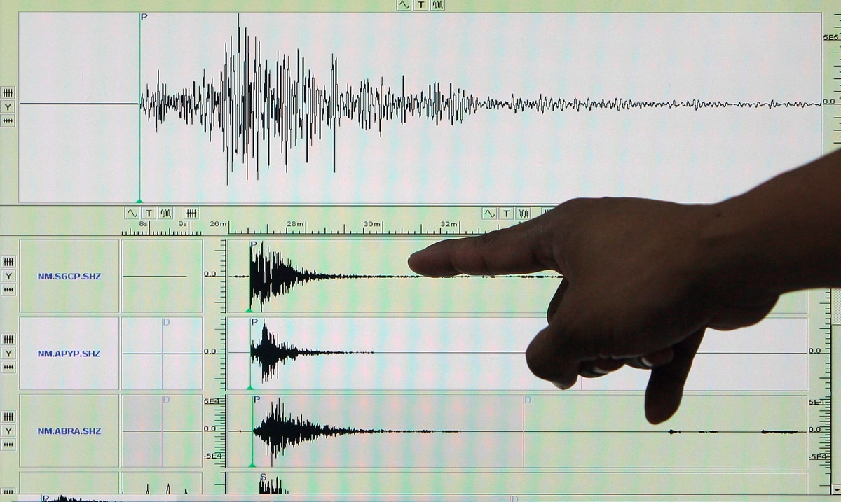 La Red Sísmica registra un temblor de magnitud 4.8 al norte de Culebra durante la madrugada