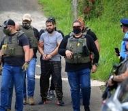 """Carlos Cotto Cruz, alias """"Wasa"""", fue arrestado en Orocovis. Era uno de los más buscados tanto por las autoridades estatales como federales."""