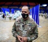 El general José Reyes, ayudante general de la Guardia Nacional, informó que hasta el momento Puerto Rico ha recibido 194,050 dosis de vacunas, de las cuales ha distribuido 124,575.