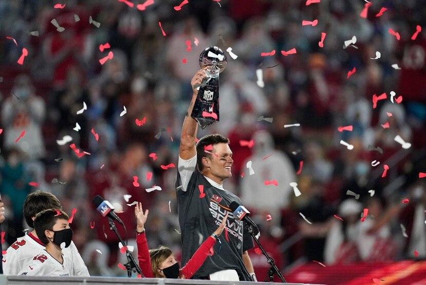 Tom Brady ganó su séptimo campeonato de Super Bowl, su primero con los Buccaneers de Tampa Bay.
