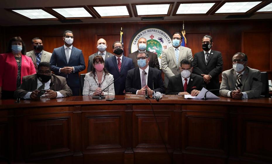 Los miembros de la minoría del PPD en la Cámara y Senado no asistieron al mensaje de Wanda Vázquez Garced.