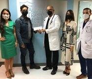 El donativo, según dijeron a través de comunicación escrita, fue presentado en las instalaciones del Programa de Trasplante de Médula Ósea, ubicados en el Hospital Auxilio Mutuo, en Hato Rey.