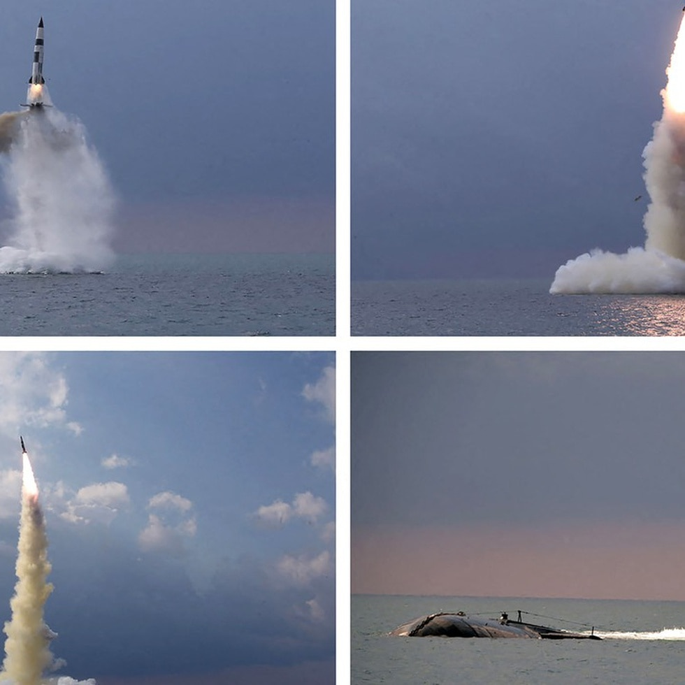 Corea del Norte probó con éxito un misil balístico desde un submarino