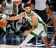 Los Nuggets tuvieron un gran tropiezo con los Celtics