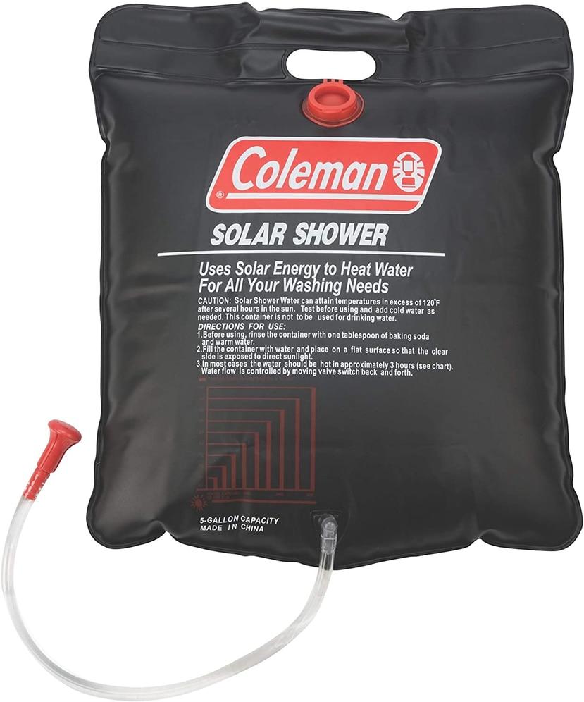Ducha portátil Coleman de 5 galones.