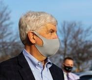 El exgobernador Rick Snyder.