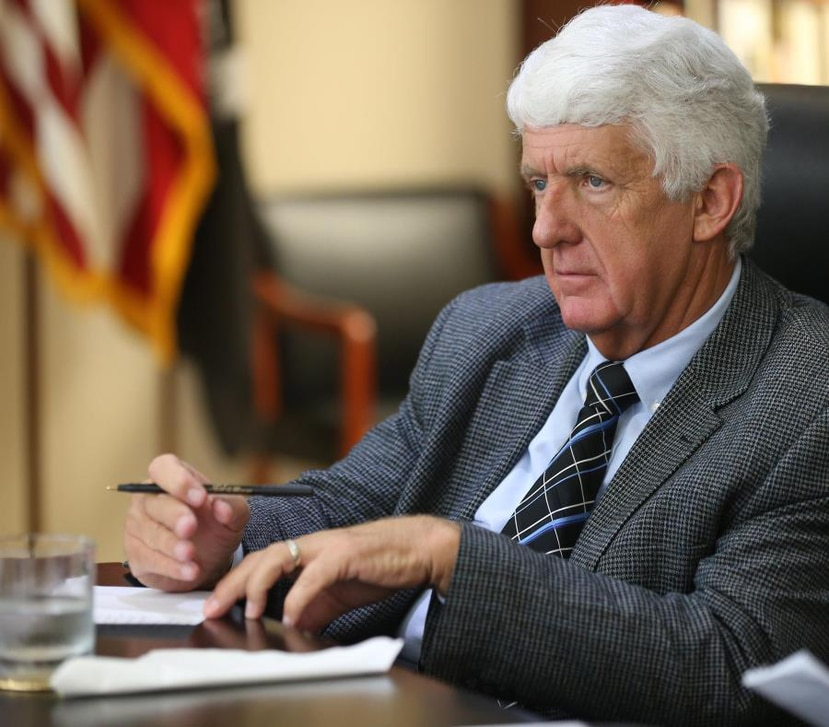 Chairman of the House Committee on Natural Resources, Rob Bishop. (AP)