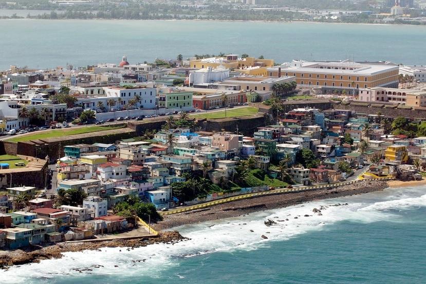 Vista aérea de La Perla.