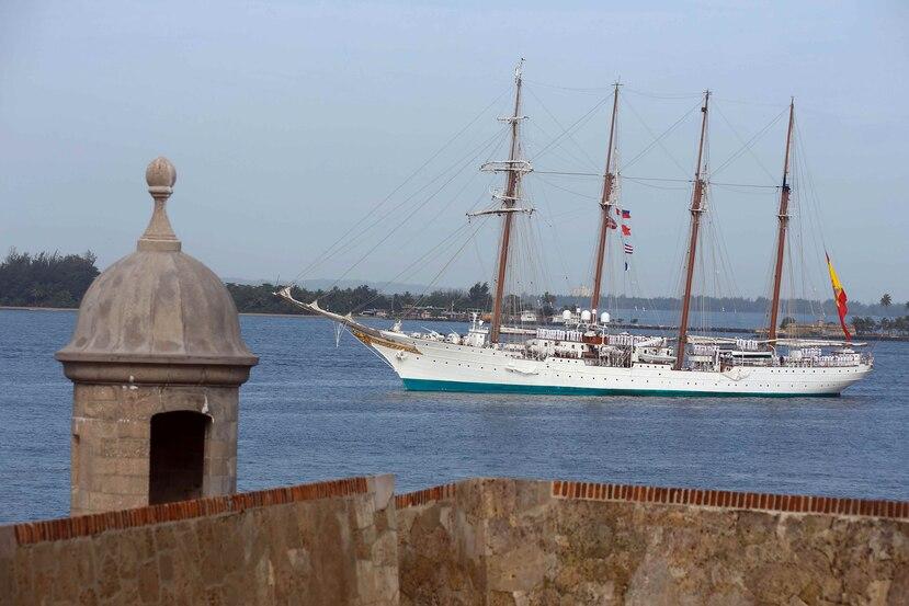 En el buque viajan 180 miembros de su dotación y 70 guardiamarinas. (GFR Media)