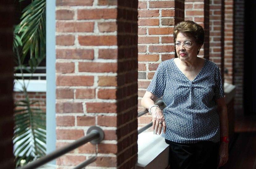 Myrna Báez falleció a los 87 años a causa de un ataque cardíaco, informó su familia.
