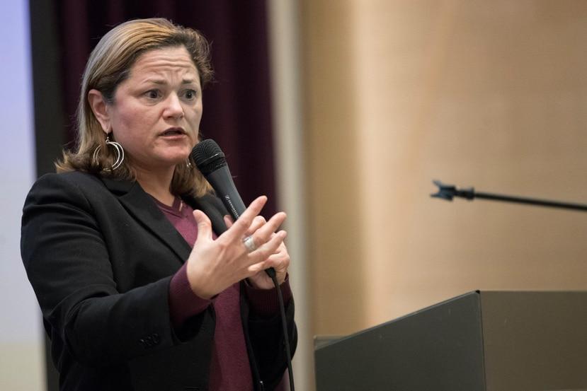 Melissa Mark Viverito, quien presidió el Concejo Municipal de Nueva York, anunció que buscará en las elecciones de 2020 el puesto que dejará el también puertorriqueño José Serrano. (AP)