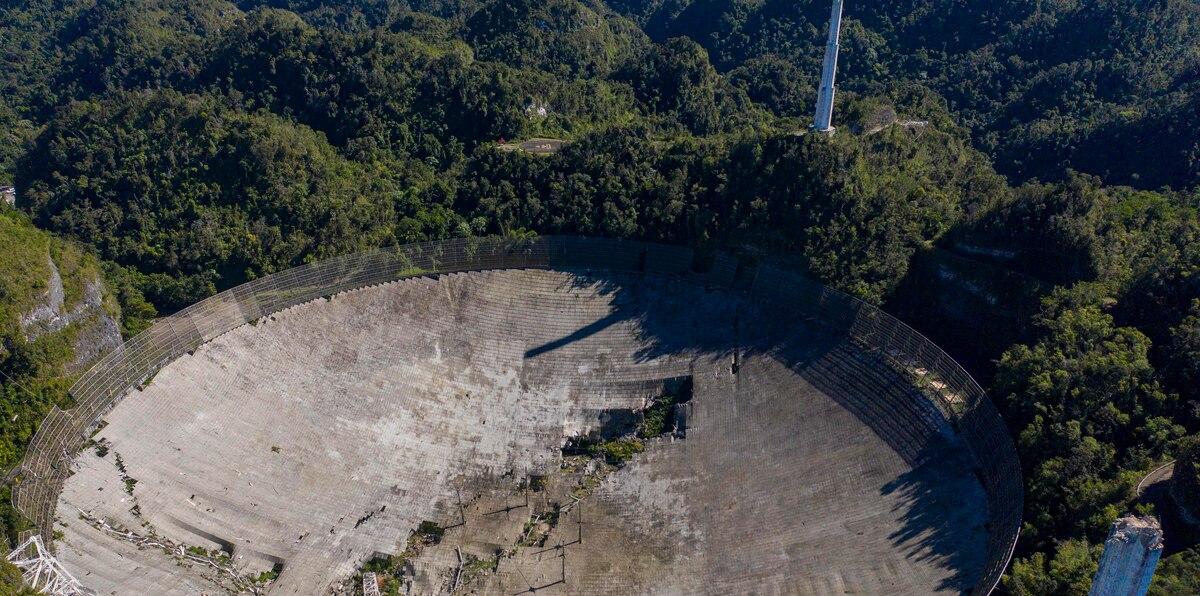 La remoción de escombros tras el colapso del radiotelescopio de Arecibo se extenderá hasta junio o julio