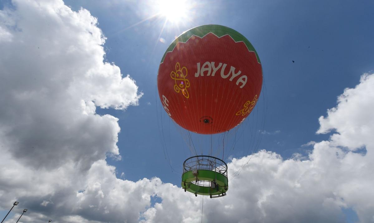 El globo aerostático fijo de Jayuya pudiera regresar para este verano