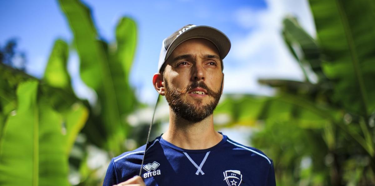Ángel Pérez, del voleibol a la agricultura