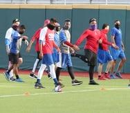 La Selección Nacional de Béisbo entrena todos los martes y jueves.