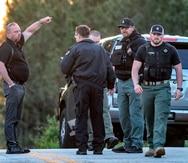 Tres policías resultan heridos durante una persecución en Georgia