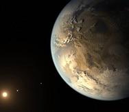Este concepto artístico ilustra cómo pudiera lucir un planeta extrasolar. (Ilustración / NASA / JPL-Caltech).