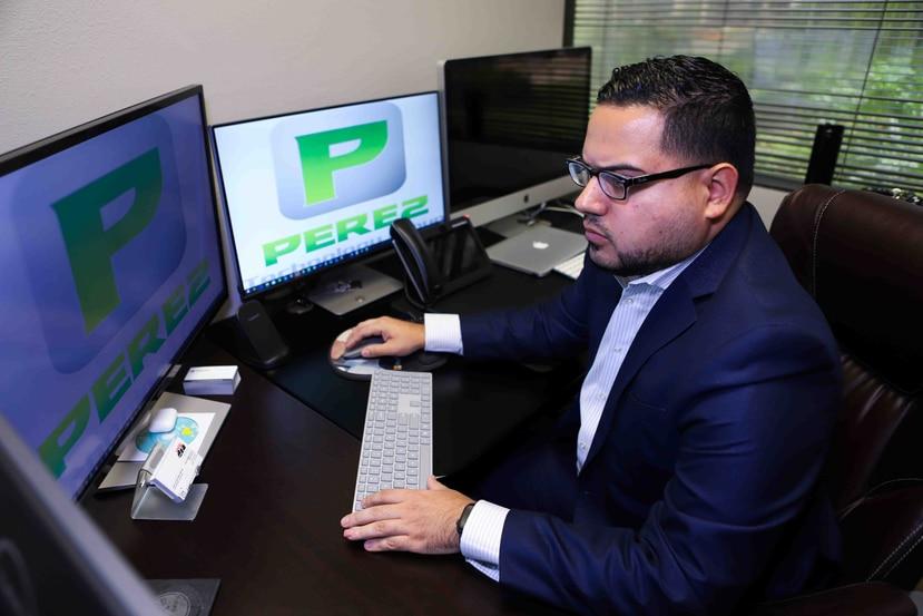 Carlos Pérez, presidente de Pérez Technology Group. (Carla D. Martínez / Especial GFR Media)