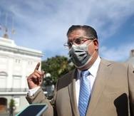 En la foto, Rafael Tatito Hernandez, presidente de la Cámara de Representantes.