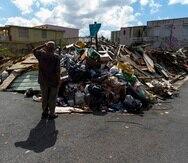 Los escombros generados tras los huracanes de 2017 y el terremoto del año pasado acortaron la vida útil de los vertederos.