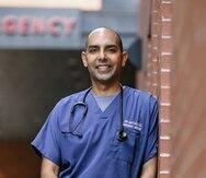 Médico puertorriqueño presenta su candidatura para la alcaldía de Boston