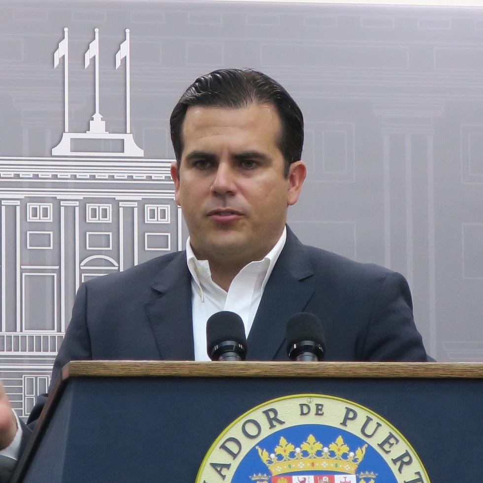 Ricardo Rosselló, exgobernador.