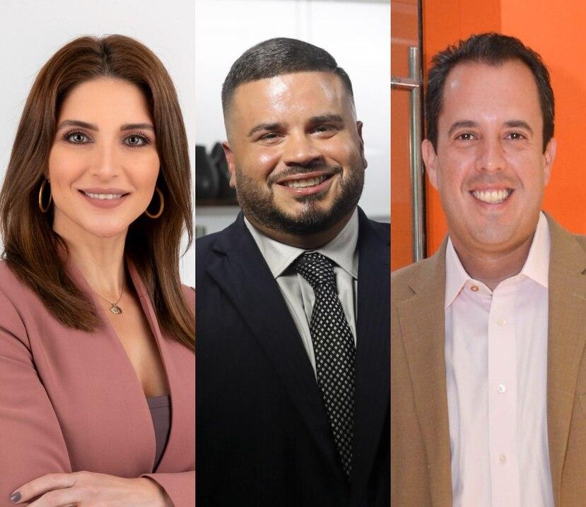 Katiria Soto y Rafael Lenín López tuvieron palabras de apoyo para Jay Fonseca.