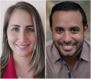 Laura M. Quintero Rodríguez y Gerardo Enrique Alvarado León recibirán una serie de adiestramientos sobre el periodismo de soluciones.
