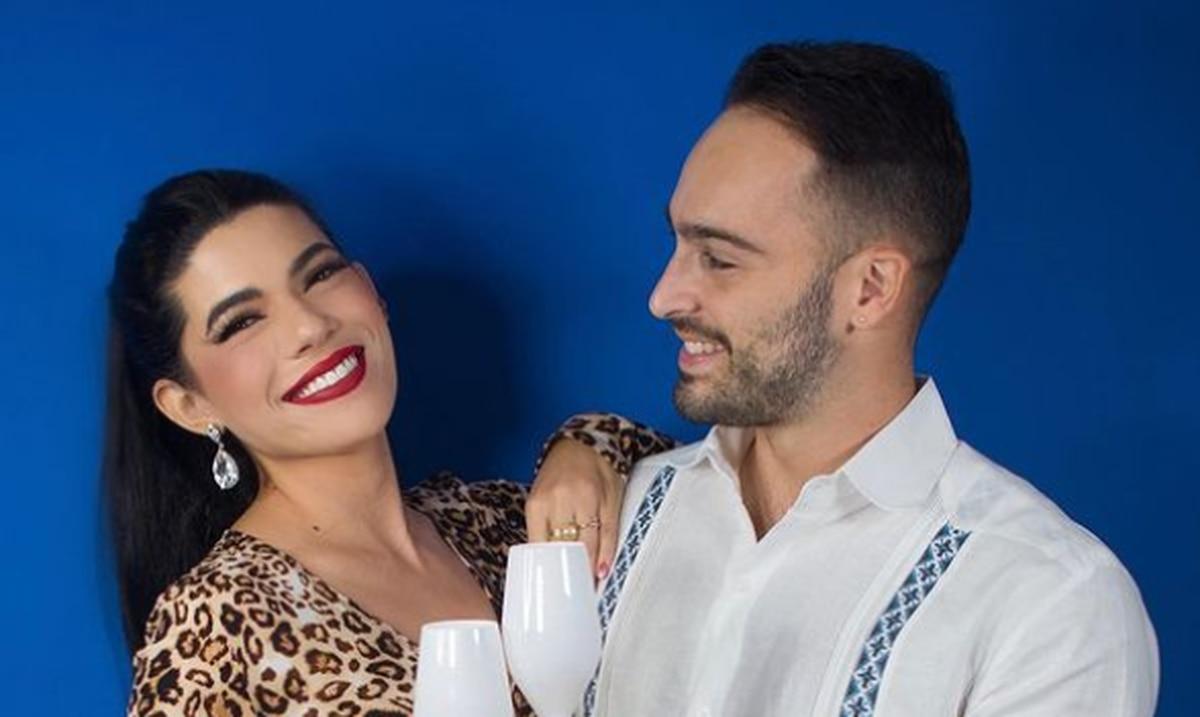 Natalia Lugo y Carlos Torres terminan su novizago