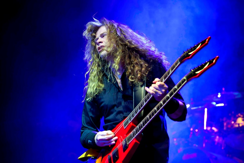 Dave Mustaine (AP)